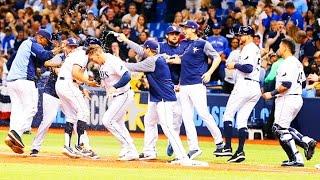 Rays highlights vs Blue Jays 4/8/17