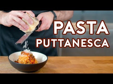 Binging with Babish: Pasta Puttanesca from Lemony Snickets A Series of Unfortunate Events