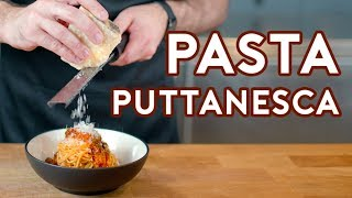Binging with Babish: Pasta Puttanesca from Lemony Snicket
