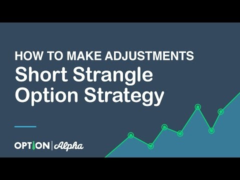 Options trading short strangle