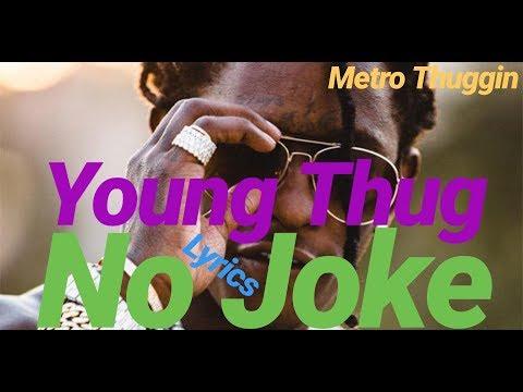 Young Thug - No Joke [Official Audio] Prod. Metro Boomin (Metro Thuggin)