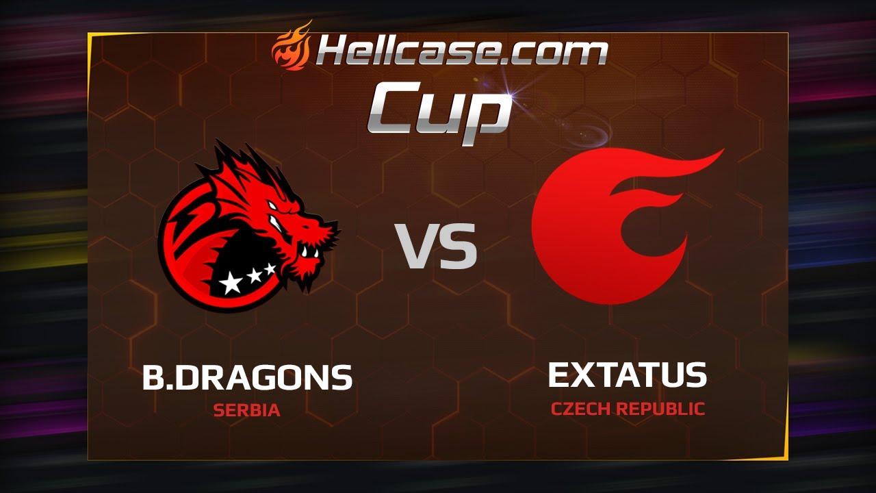 Binary Dragons vs eXtatus, map 2 mirage, Hellcase Cup Season 5