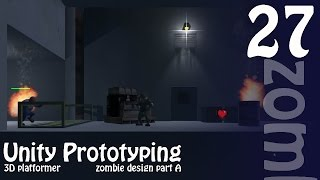 Making Your First Game: Unity 3D Zombie Shooter Platformer - Building the Zombie