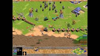 Yamato vs 7 Hardest Randoms. Random Map Battle. Age of Empires.