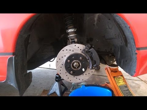 Diy S13 Nissan 240sx Q45 Brake Upgrade