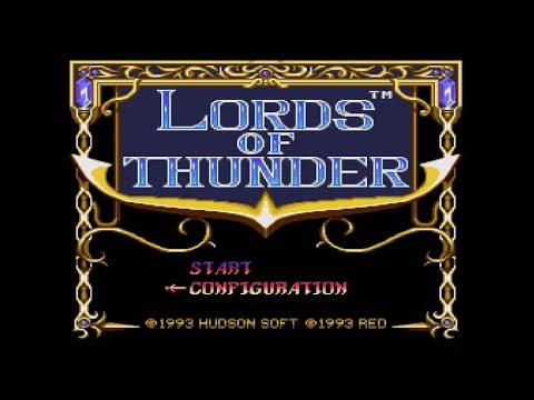 LORDS OF THUNDER (Wii U Virtual Console)- 60FPS Gameplay Footage
