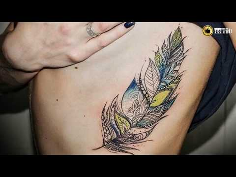 Best Feather Tattoo Design Idea