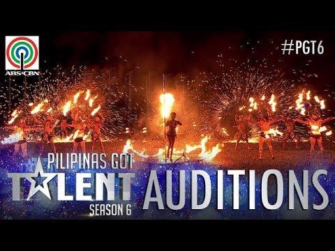 Pilipinas Got Talent 2018 Auditions: Dancing Fire Warriors  Fire Dance