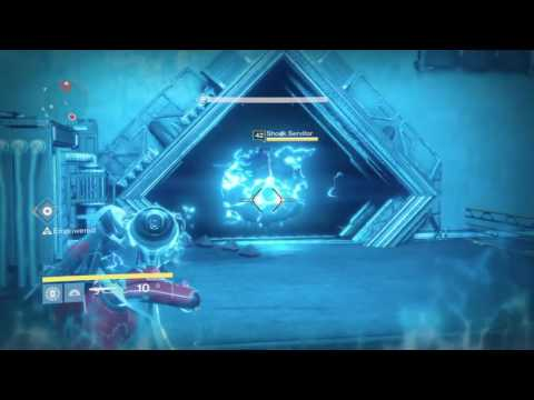 Aksis gameplay and 5th Monitor to unlock Exotic Pulse Rifle Quest, Destiny