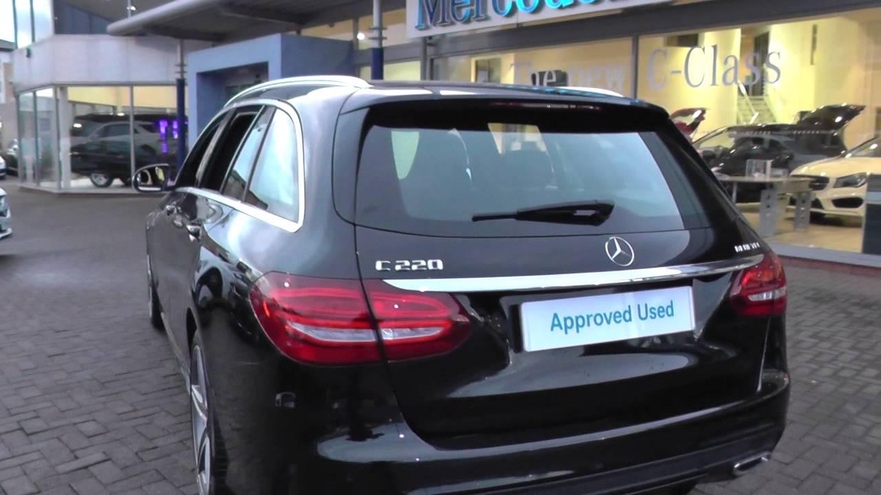 Mercedes C180 2017 >> Mercedes-Benz C-Class Estate (205) C220 BlueTEC AMG Line Estate U39814 - YouTube