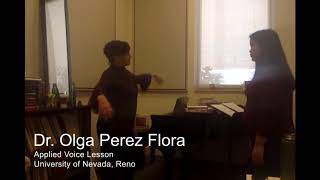1.) Applied Voice Lesson UNR (Junior, Music Education major) 2.) Opera Scene direction of the Ice Cream sextet from Street Scene at 21:16 (Idyllwild Festival of ...