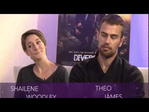 Shailene Woodley & Theo James On Set of 'Insurgent' | TODAY from YouTube · Duration:  4 minutes 35 seconds