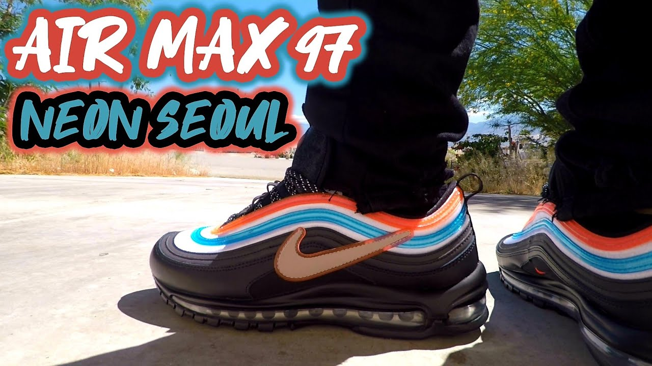Nike Air Max 97 Neon Seoul Review and On Foot !!!