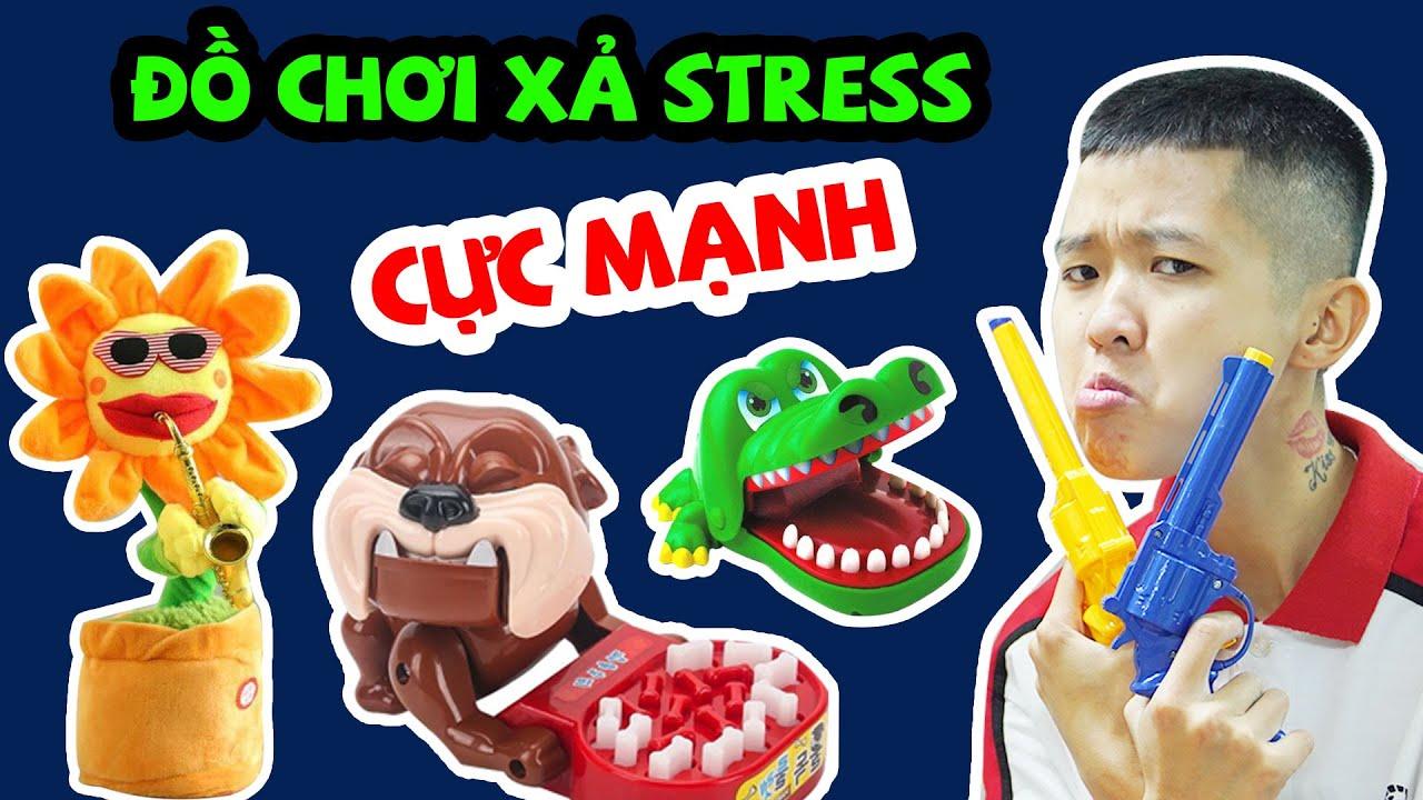 Tôm Review Những Đồ Chơi Xả Stress Cực Mạnh