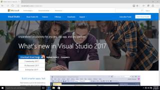 How to activate and install Visual Studio 2017 Enterprise or Professional in Windows 10
