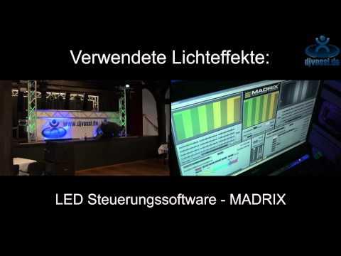 DJ Vossi - Anlagenaufbau - PA-Paket Mittel & Licht-Paket Groß 2011