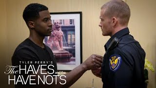 Jeffery and Officer Justin   Tyler Perry's The Haves and the Have Nots   OWN