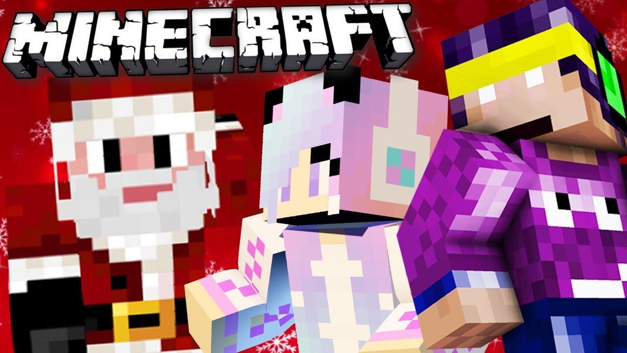 Fa ce spune MOS CRACIUN pe Minecraft!