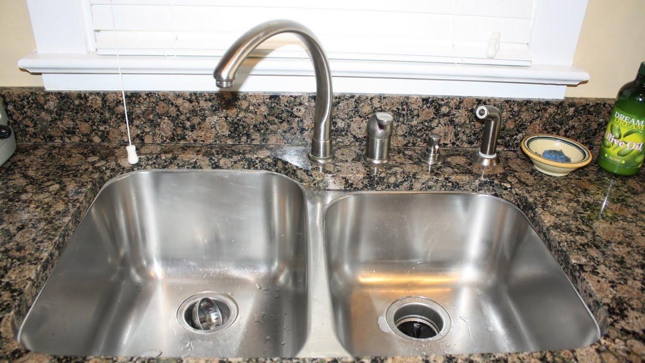 Liquid Soap Dispenser For Kitchen Sink Youtube