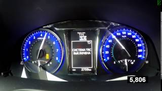 Toyota Camry 2.5 Exclusive - Acceleration 0-100 km/h (Racelogic)