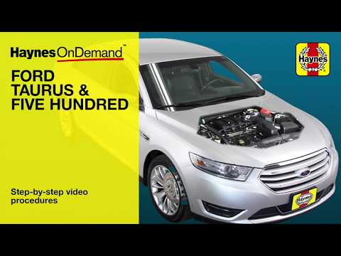 Haynes Manuals -Ford Taurus (2008 - 2014) OnDemand preview