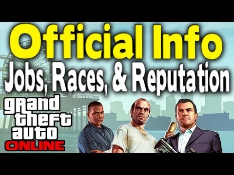 GTA ONLINE LAUNCH DETAILED | Free DLC, New Game Types, Reputation & More (Official News) [GTA V]