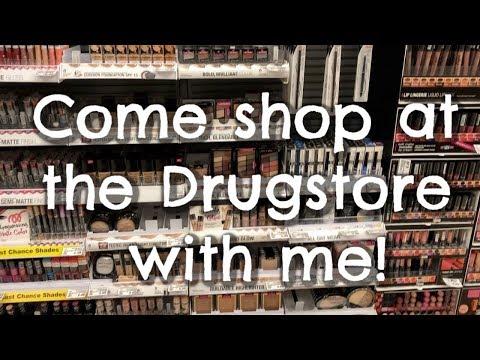 Vlog   Drugstore Shop With Me