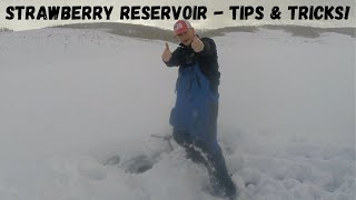 Strawberry Reservoir Ice Fishing Tips