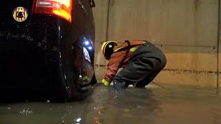 Bomberos realizan 21 intervenciones por las lluvias en Xàtiva