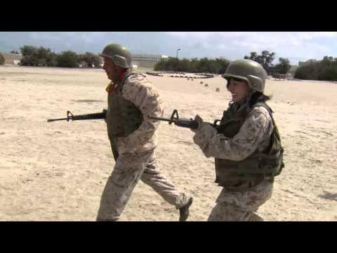 Bayonet assault training 5/28/13 MCRD San Diego