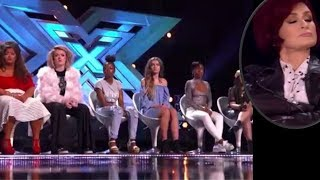Simon Cowell FURIOUS as Sharon Plays Musical Chairs at 6 Chair Challenge | The X Factor UK 2017 thumbnail