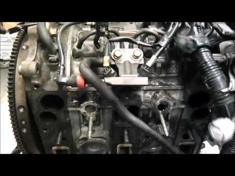 Mazda RX8 engine disassembly
