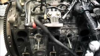 Mazda RX8 engine disassembly