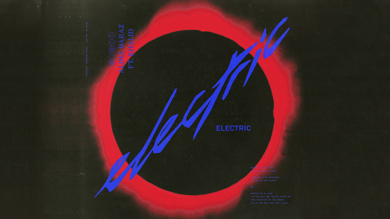 electric red alina baraz electric feat khalid youtube