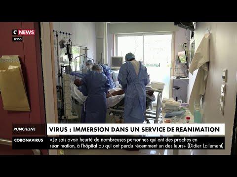Coronavirus: immersion dans un service de réanimation
