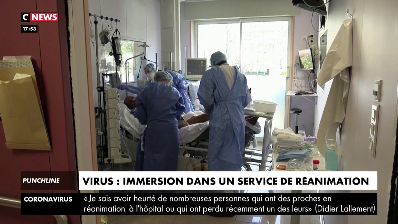 Coronavirus : immersion dans un service de réanimation