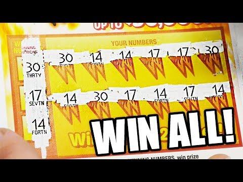 MANUAL WIN ALL TWO'S ON TUESDAYS Michigan Lottery Scratch offs