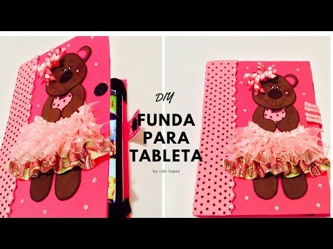 6813330095b funda para Ipad o Tablet de foami o goma Eva ❤ ❤ ❤ - YouTube