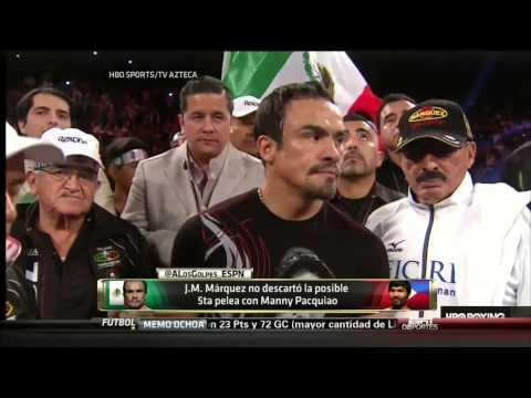 A Los Golpes-Post-Juan Manuel Marquez vs Mike Alvarado