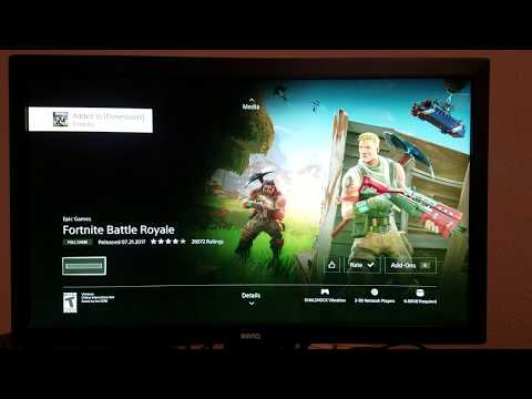 Downloading a Game at 1000Mbps on PS4 (Gigabit Fiber Optic Internet)