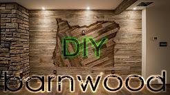 DIY Barnwood Wall Installation - With Some OREGON Love
