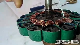 How To Fan Coil Rewinding Easy At Home ( Ceiling Fan ). YT-41