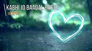 kabhi-jo-baadal-barse-jackpot-piano-instrumental