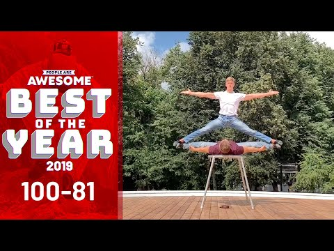 Top 100 Videos of the Year (100-81)   People Are Awesome