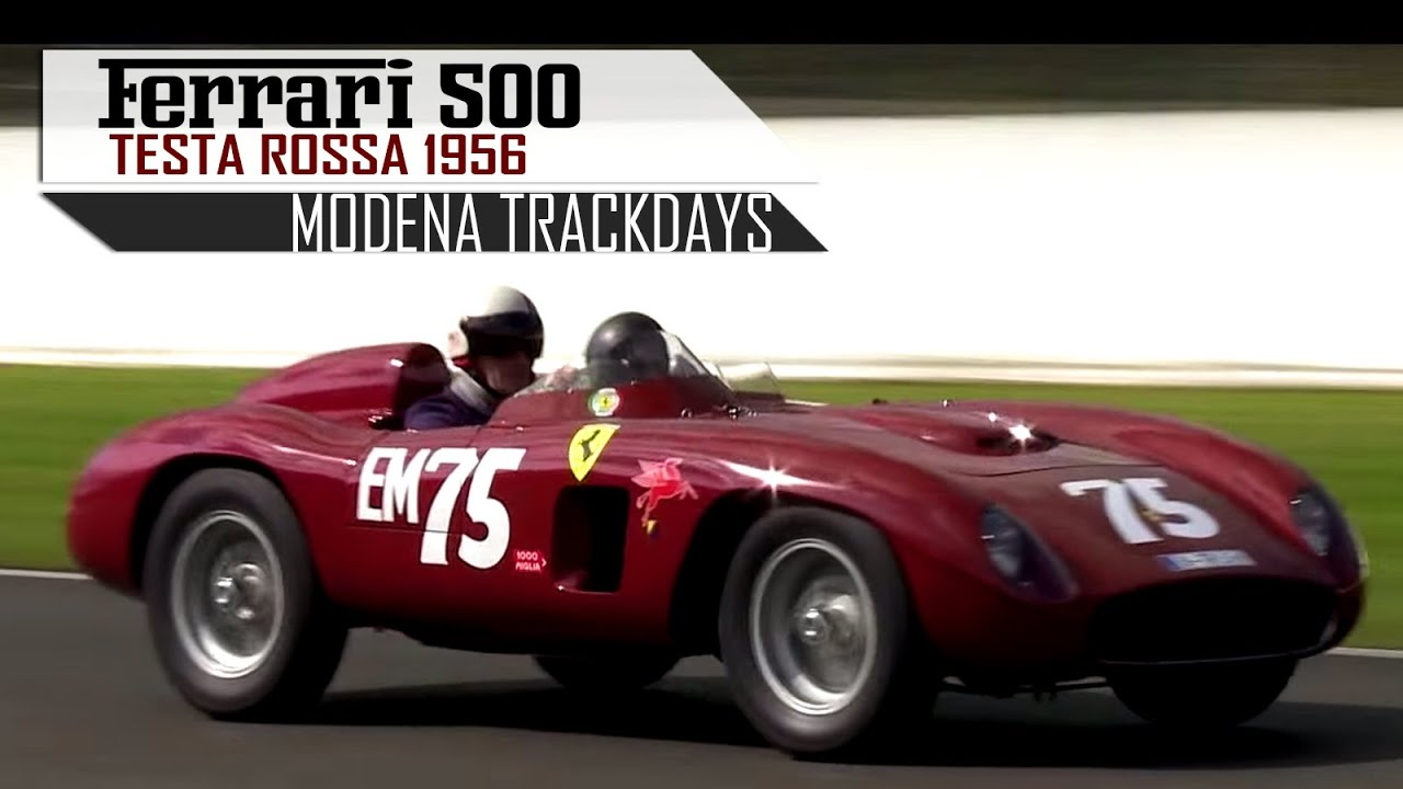 Ferrari 500 testa rossa trc 1956 testarossa racing in top gear ferrari 500 testa rossa trc 1956 testarossa racing in top gear on track scc tv youtube vanachro Image collections