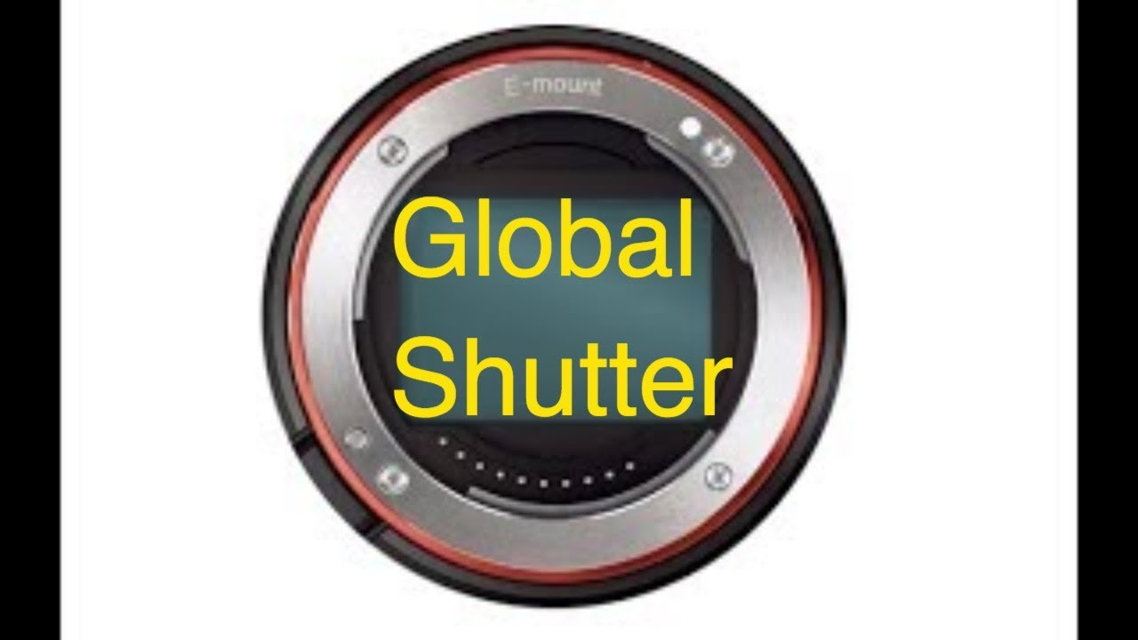 Sony a7000 or a7sIII to have a Global shutter?
