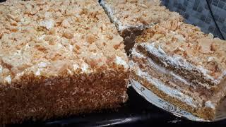 Тающий Торт ДЖУЛИЯ к чаю и на праздничный стол Потрясающий Рецепт Домашний торт Amazing Cake Recipe
