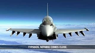 Airbus Group - Eurofighter Typhoon Defensive Aids Sub System (DASS) Combat Simulation [720p]