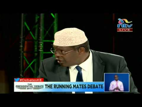 These two (Nasa, Jubilee running mates) have shown Kenyan's the middle finger - Miguna Miguna