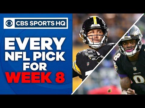 2020 NFL Week 8 Picks: Ravens hand Steelers first loss of the season | CBS Sports HQ